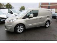 2015 FORD TRANSIT CONNECT 200 LIMITED 115PS L1H1 SWB IN SILVER WITH AIR CONDITIO