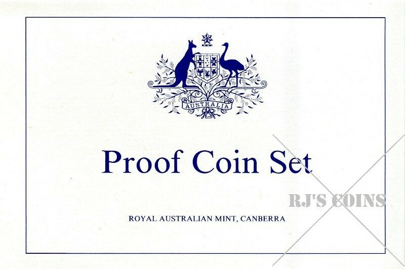 Australian 1987 Proof Seven Coin Year Set from the Royal Australian Mint