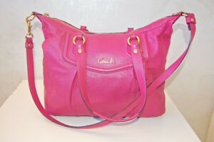 Authentic COACH Large Ashley Leather Satchel