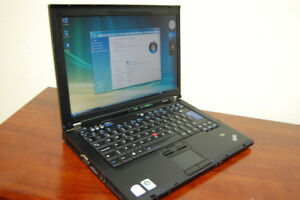 "Lenovo ThinkPad 15.4"" Dual Core Laptop with New Battery"