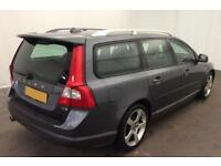 Volvo V70 2.0 D3 ( 163ps ) 2011MY R-Design SE FROM £39 PER WEEK !