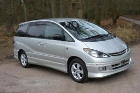 TOYOTA ESTIMA PREVIA AERAS 3.0 T AUTOMATIC,PEOPLE CARRIER,ONLY 20,000 MILES