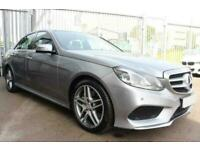 2013 SILVER MERCEDES E350 3.0 CDI AMG SPORT DIESEL SALOON CAR FINANCE FR £225PCM
