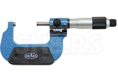 Shars 1 - 2 Digital Digit Outside Micrometer .0001 Ratchet Thimble