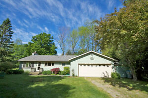 LAKEFRONT OASIS IN BAYFIELD! BOTH HOUSE & COTTAGE ON 4.6 ACRES