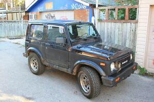 1986 Suzuki Samurai Tintop