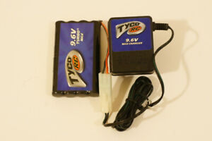 Tyco R/C: 9.6V Turbo NiCd Battery Pack & Charger