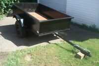 "by phone only ,trailer 4'x6'3"" all metal"
