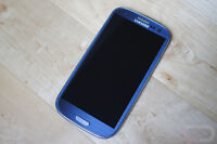 Blue Samsung S3 16gb with Rogers/Chatr