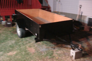 by phone only,nice trailer 4'x8' bonne condition
