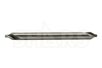 Shars 4 X 4 Long M2 60 Combined Drill Countersink Center Drill New