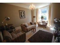 FULLY FURNISHED, Two large bedroom, Ground Floor Flat, Private Entrance, Garden and Parking
