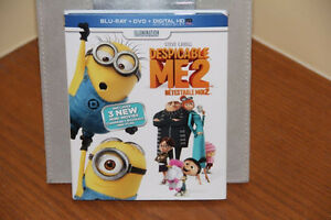 DESPICABLE ME2 BLU-RAY + DVD