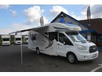 2016 CHAUSSON FLASH 737 MOTORHOME FORD TRANSIT 2.2 DIESEL 6 SPEED MANUAL GEARBOX