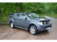 2007 NISSAN NAVARA 4X4 Double Cab Pick Up Sport 2.5dCi 169 4WD NO VAT