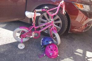 12 inch children bicycle with training wheels