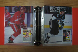 Hockey books, Beckett