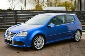 2006 VW GOLF MK5 R32 DBP RECARO FVSH 2 KEYS LOW RATE FINANCE