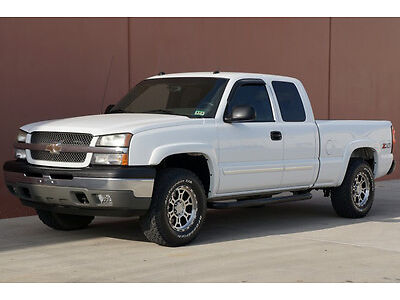 05 Chevy Silverado 1500 Z71 Ext Cab 4x4 Bose Running Boards Bed Liner Carfax Cer