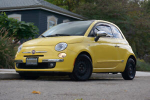 Fiat 500 - 2012 - 2DR - Lounge Yellow