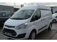 2015 FORD TRANSIT CUSTOM 290 TREND L2 LWB H2 HIGH ROOFVAN PANEL VAN DIESEL