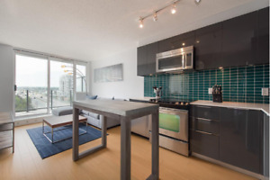 Rolston: Unfurnished 1 Bedroom/Den/Parking in Downtown Vancouver
