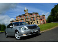 2005 Lexus LS 430 4.3 ACC/PCS auto 6sp+LWB LIMO SPEC+MASSAGE SEATS+FSH+HUGE SPEC