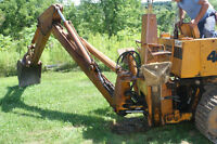 Backhoe attachment for case 450 Crawler/ Dozer