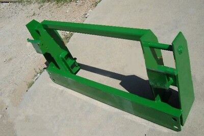 Jd 600-700 Loader To Jd 500 Series Attachments