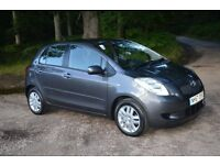 2008 TOYOTA YARIS 1.4 D 4D TR 5dr ONE OWNER 25,000 MILES £30 Road Tax