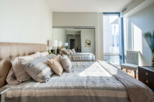 Luxurious Master Bedroom by Eaton Center