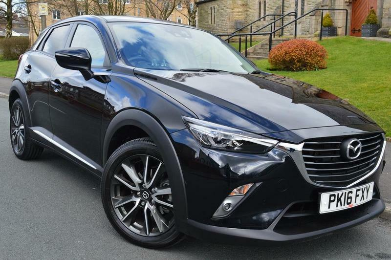 mazda cx 3 2 0 sport nav 5 door awd black 2016 in blackburn lancashire gumtree. Black Bedroom Furniture Sets. Home Design Ideas