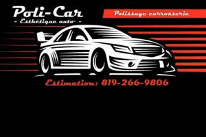 Service d'esthétique automobile