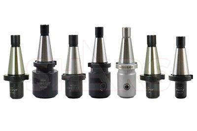 7pcs Nmtb 30 End Mill Tool Holder Set 316 14 38 12 58 34 1 Tir 0.0004 R