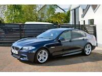 2011 11 BMW 5 SERIES 2.0 520D M SPORT 4D AUTO 181 BHP FBMWSH 1 OWNER IMPERIAL BL