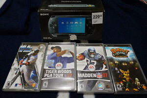 PSP with Games, Case, and Charger Cornwall Ontario image 3