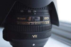 Nikon 24-85mm F/3.5-4.5G ED VR Full Frame