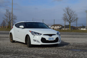 2013 Hyundai Veloster Tech 6 Speed ACCIDENT FREE