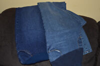 2 pairs of size Large Motherhood jeans