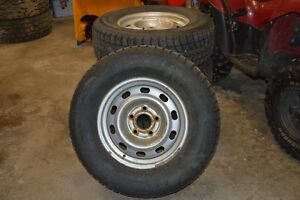 Dodge Ram Winter Tires and Rims