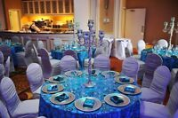 Event Table Cloths, Table Linen, Napkins and Chair Covers