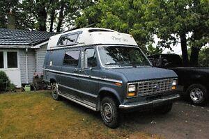 1989 ford f250 econoline Camper van