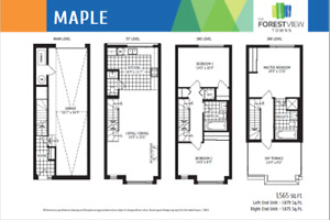 Brand New End Unit Town Immediate Occupancy avai West Pickering
