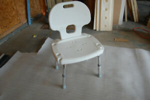 Mobility product chair and handle