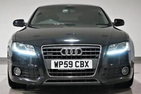 2009 Audi A5 2.0TD ( 168bhp ) quattro S Line Black -FINANCE FROM £51p/w-PX-SWAP