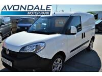 2017 FIAT DOBLO CARGO 16V SX MULTIJET VAN WITH SAT NAV AND AIR-CON SECURITY LOCK