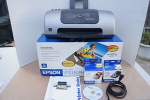Epson Stylus Photo 820 Ink Jet Printer new open box