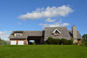VIDEO-Executive Waterfront 10 Acres Quispamsis Home