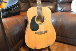 Acoustic guitars for sale, (one right handed one left handed)