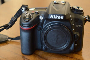 NIKON D7100 with 6487 clicks on the shutter